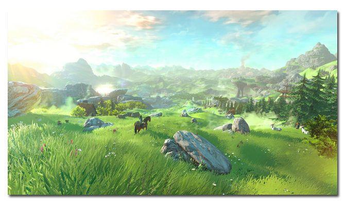 6 99 The Legend Of Zelda Hyrule Warriors Game Landscape Silk Poster 13x24 24x43 022 Ebay Collec Breath Of The Wild Legend Of Zelda Breath Legend Of Zelda