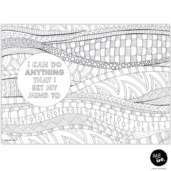 Beautiful handdrawn colouring in pages by LDM.