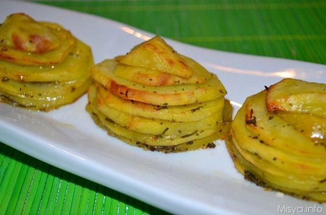 » Torrette di patate alle erbe Ricette di Misya - Ricetta Torrette di patate alle erbe di Misya