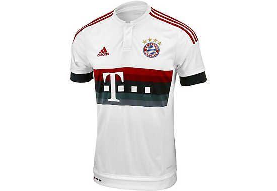 adidas Bayern Munich Away Jersey 2015-2016