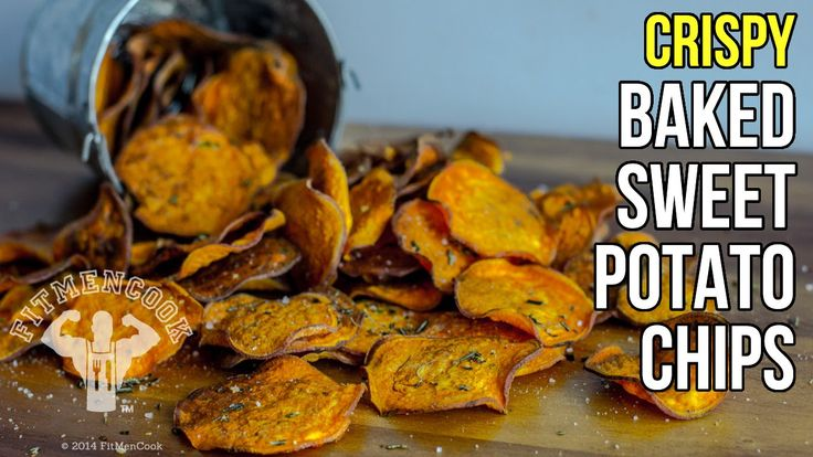 Instead of spending money on store-bought chips loaded with saturated fats and preservatives, make your own crispy baked sweet potato chips! Perfect snack fo...