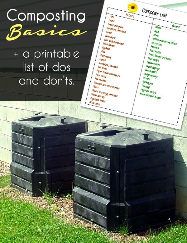 It is a picture of Wild Printable Compost List