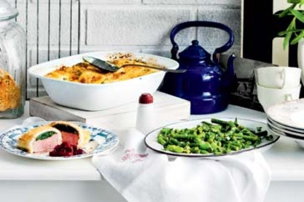 Cook up this British-inspired banquet for a Queen's birthday weekend to remember.