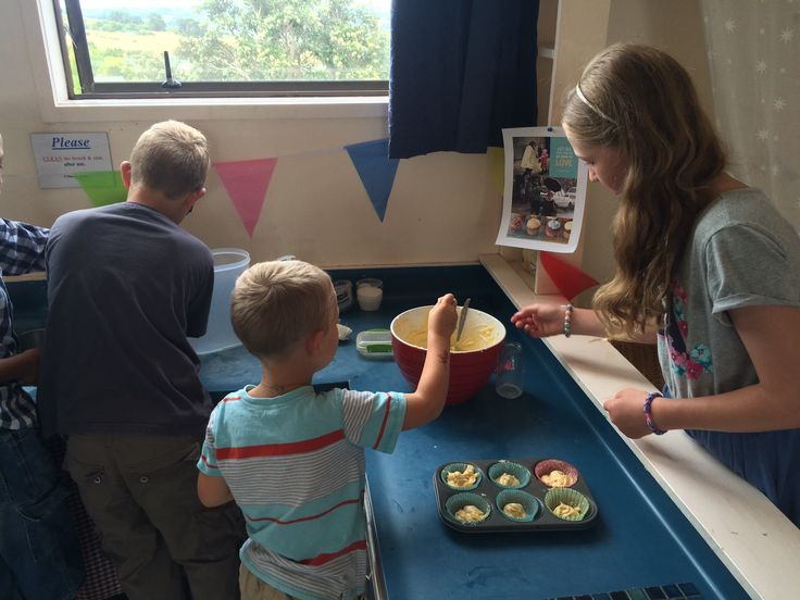 Baking cupcakes. Provocation: What shall we do with the extra cupcakes? Collaboration, team work, showing love, sharing, caring for others, kids church, emergent church, sunday school.