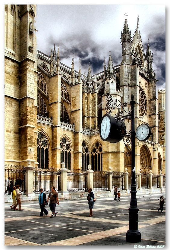 Leon cathedral (Spain)