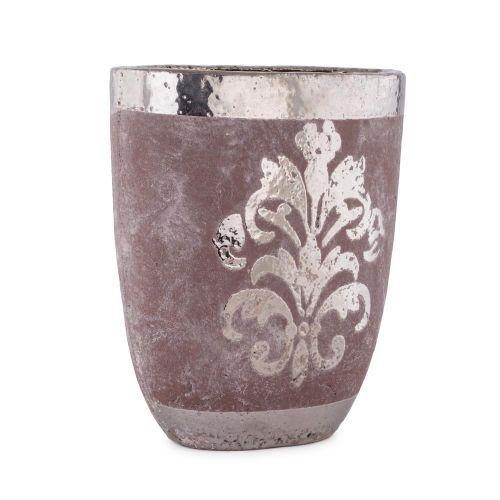 Decoratiuni - Vaza ceramica ovala, 31 cm la numai 42.00 RON