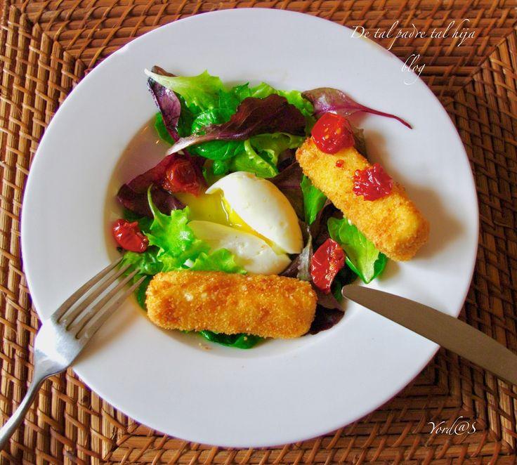 Verdure a foglia, formaggio ...      Anche se è ormai autunno e le temperature sono ben fredde vi propongo questa insalata: appetitosa, leg...