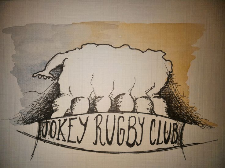 love for rugby, by  Antonio Cornejo Niederle.