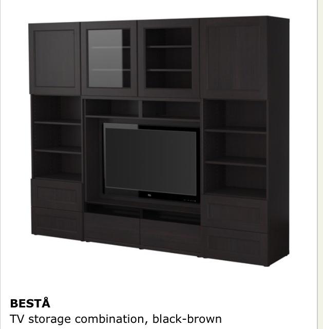 Ikea Media Storage ) Multimedia tv units Pinterest