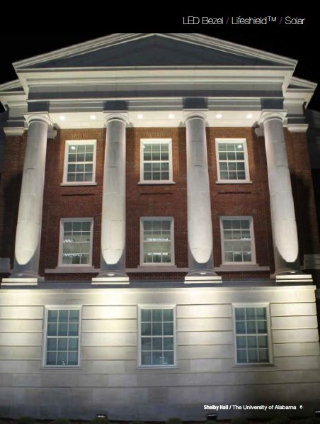 LED Bezel and Lifeshield from Beacon Products at The University of Alabama & 24 best Street light standards images on Pinterest | Street lights ... azcodes.com
