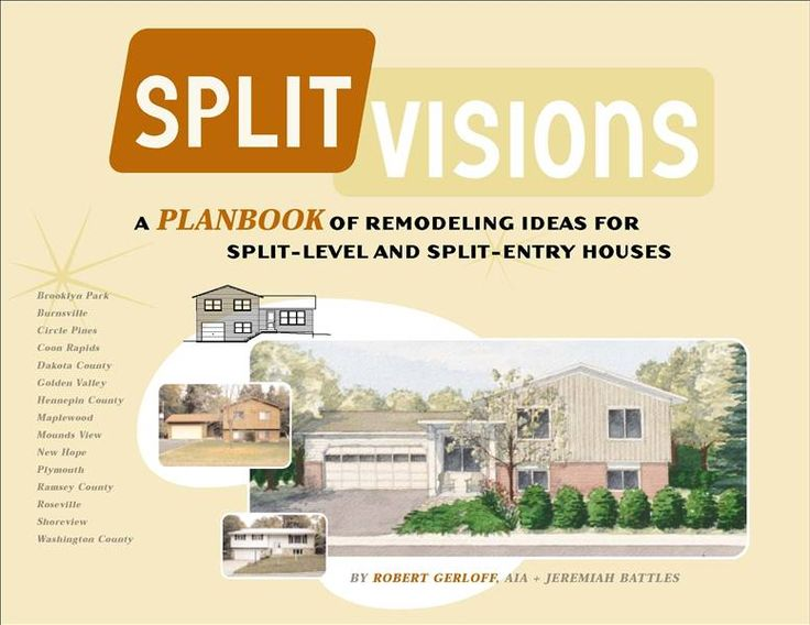 Split visions remodeling ideas for split level homes for Split level addition plans