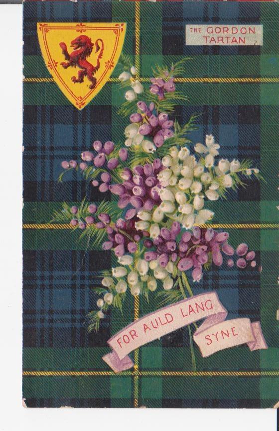 Scotland - so many symbols, tartan, heather, coat of arms