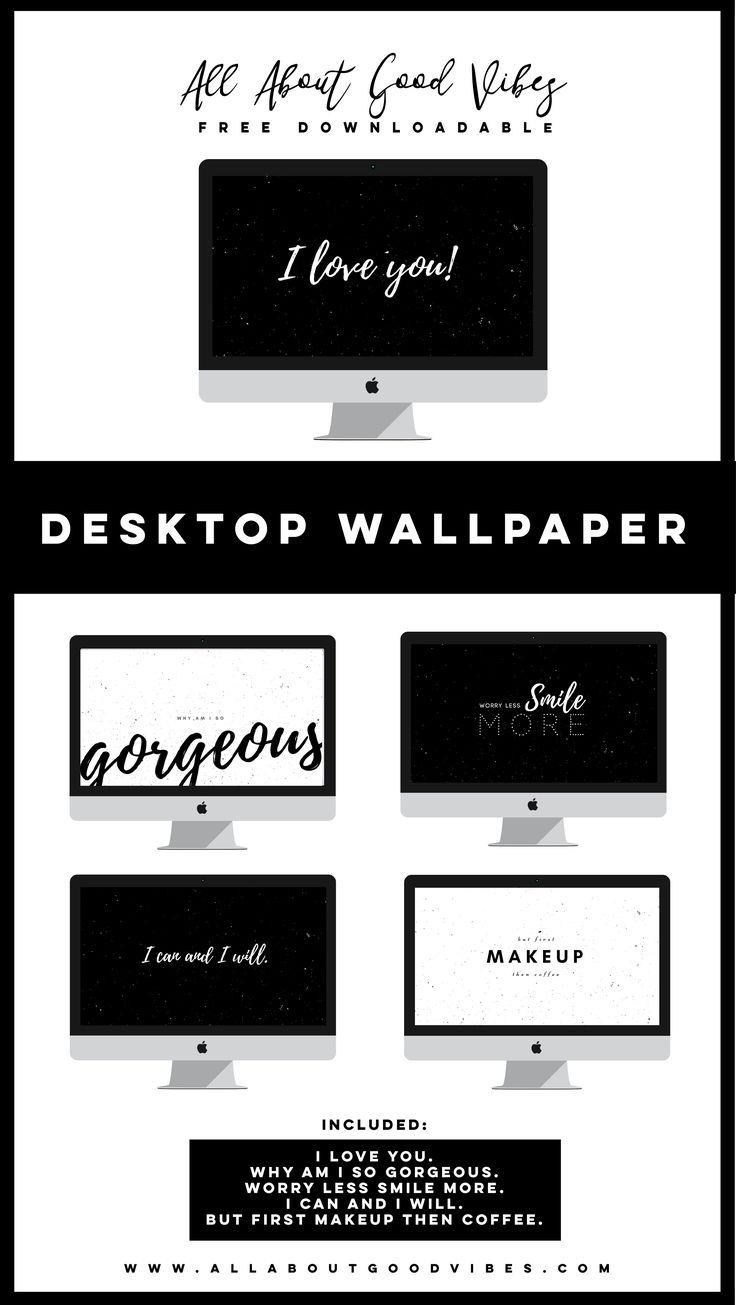 Free Downloadable Black And White Desktop Wallpaper Desktop Wallpaper Design Computer Wallpaper Desktop Wallpapers White Desktop Backgrounds