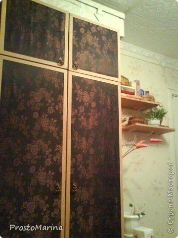 Интерьер Моя переделанная мебель Ткань фото 5