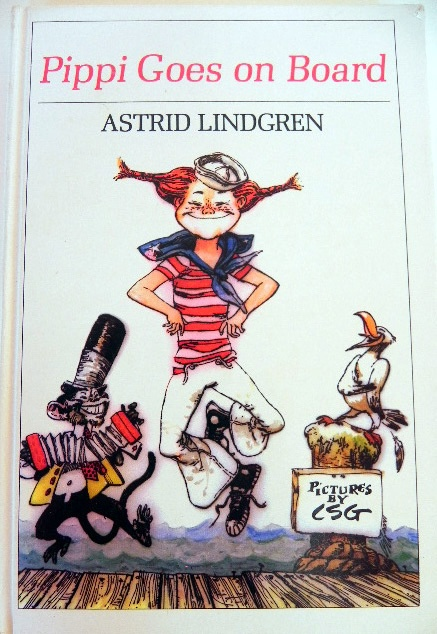 Vintage Pippi Goes on Board Hardcover by EdibleComplex on Etsy (Beth), via Flickr
