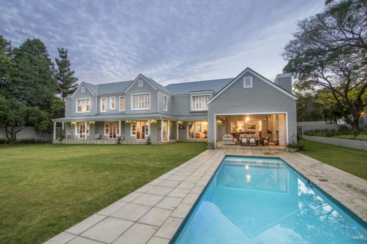 Bryanston East Exquisite Five Bedroom French Colonial Style Home Architectural Design Ideas