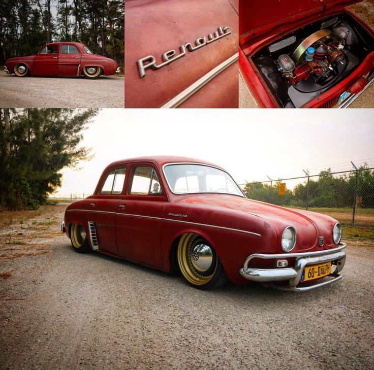 Renault Dauphine on a VW Chasis