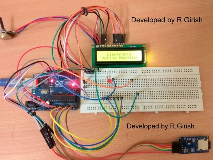 In this post we are going to construct a circuit for an Electronic Voting Machine using Arduino and SD card module where the election data is stored in the SD card. By Girish Radhakrishnan A 16 x 2 display shows the status of the voting machine and when you cast your vote, the name of the Read More