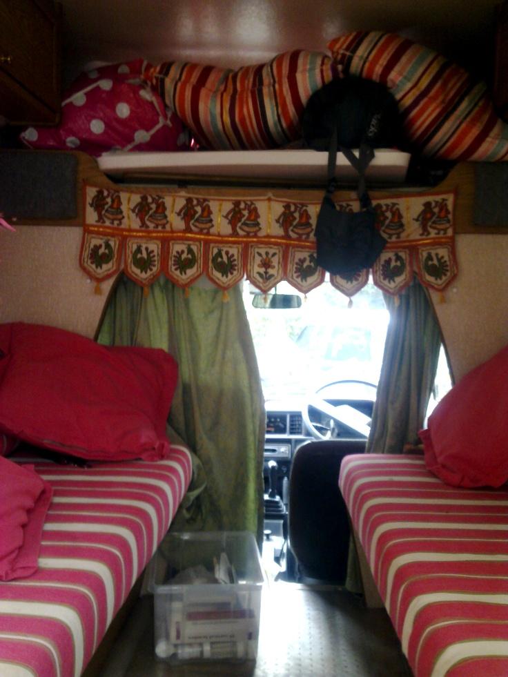 my old bedford bambi camper van