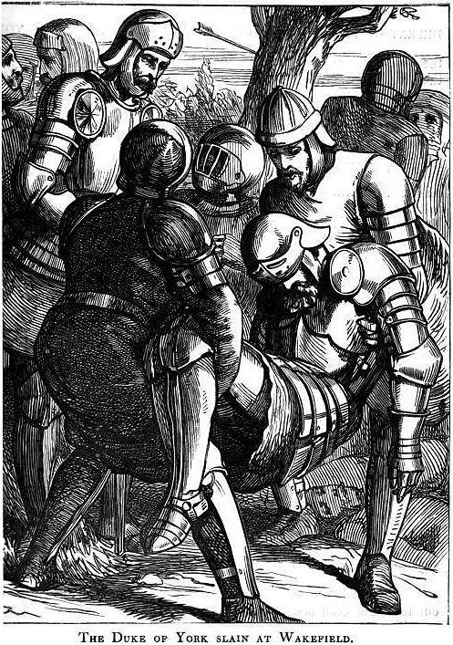 Richard, Duke of York, slain at The Battle of Wakefield