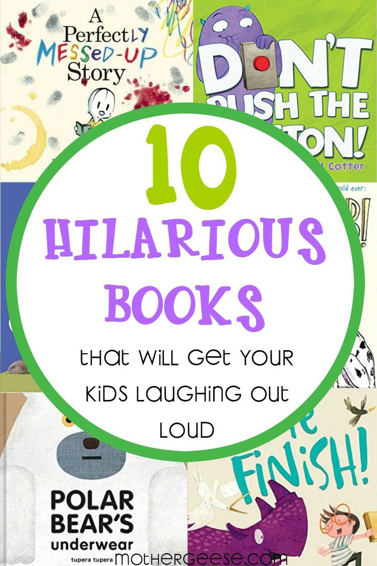 10 Hilarious Books that will get your Kids Laughing Out Loud