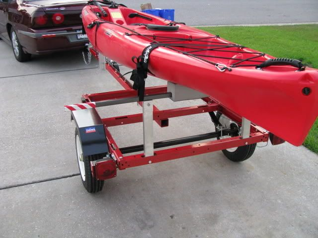 66 best images about harbor freight trailer ideas on pinterest for Fishing kayak trailer