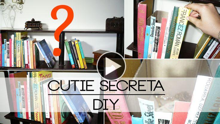 Am Făcut O Cutie Secretă | DIY