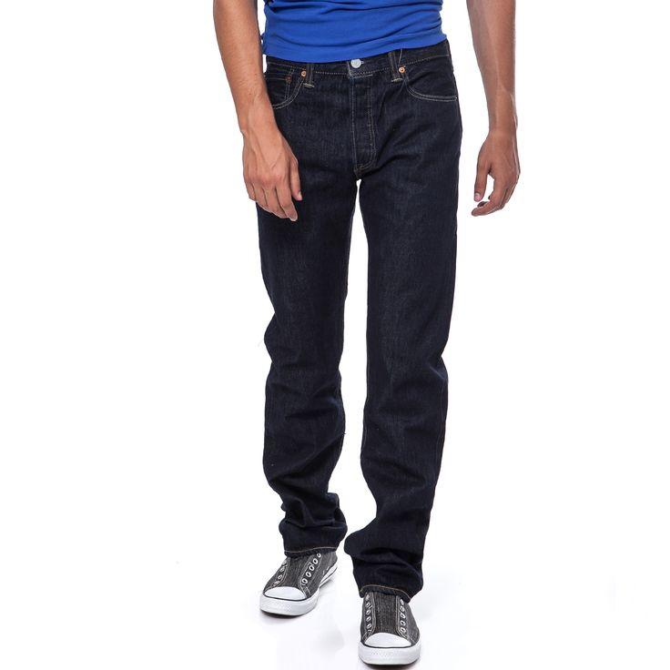 LEVI'S - Ανδρικό παντελόνι Levi's 501 μπλε | παντελονια τζιν ανδρικα προσφορες, προσφορες τζιν, τζιν LEVI'S φθηνα, τζιν παντελονια ανδρικα LEVI'S