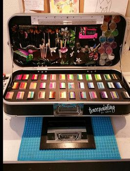 Face painting kit series: the converted DJ Hero case