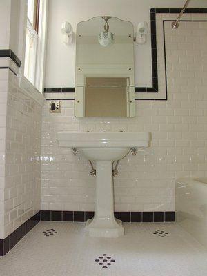 Best 25 Vintage Bathroom Tiles Ideas On Pinterest  Vintage Adorable 1940 Bathroom Design Design Ideas