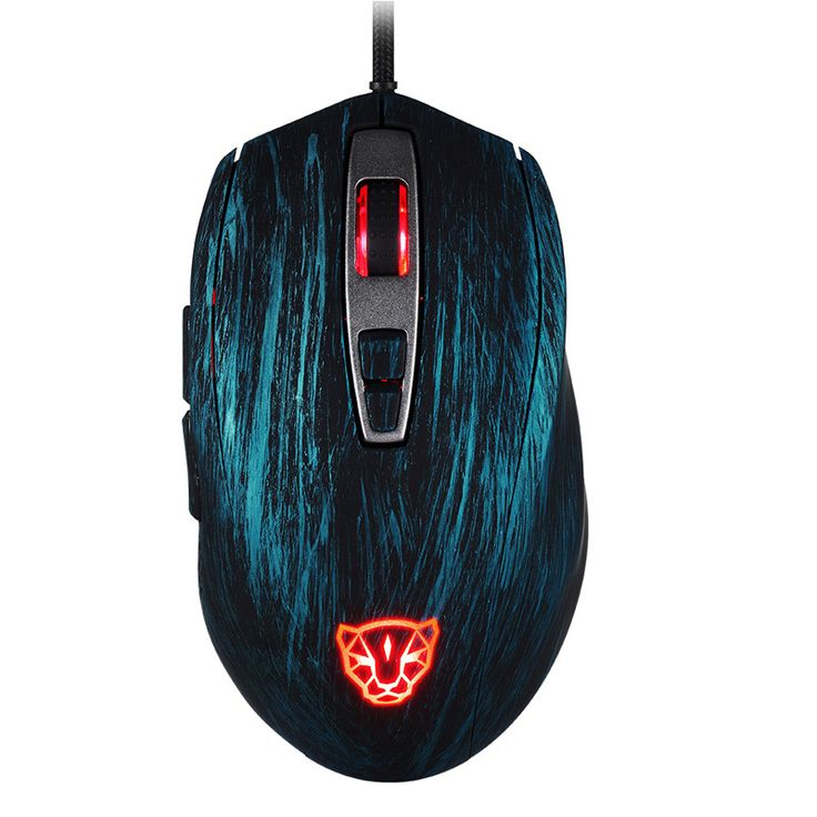 Motospeed V60 5000DPI 1000Hz RGB Backlit Optical Gaming Mouse for PC Gamers