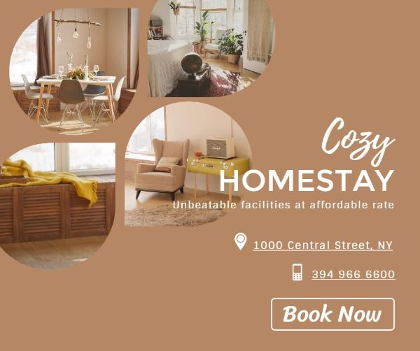 Collage Homestay Facebook Post For You Business And Marketing