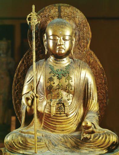 木造地蔵菩薩坐像