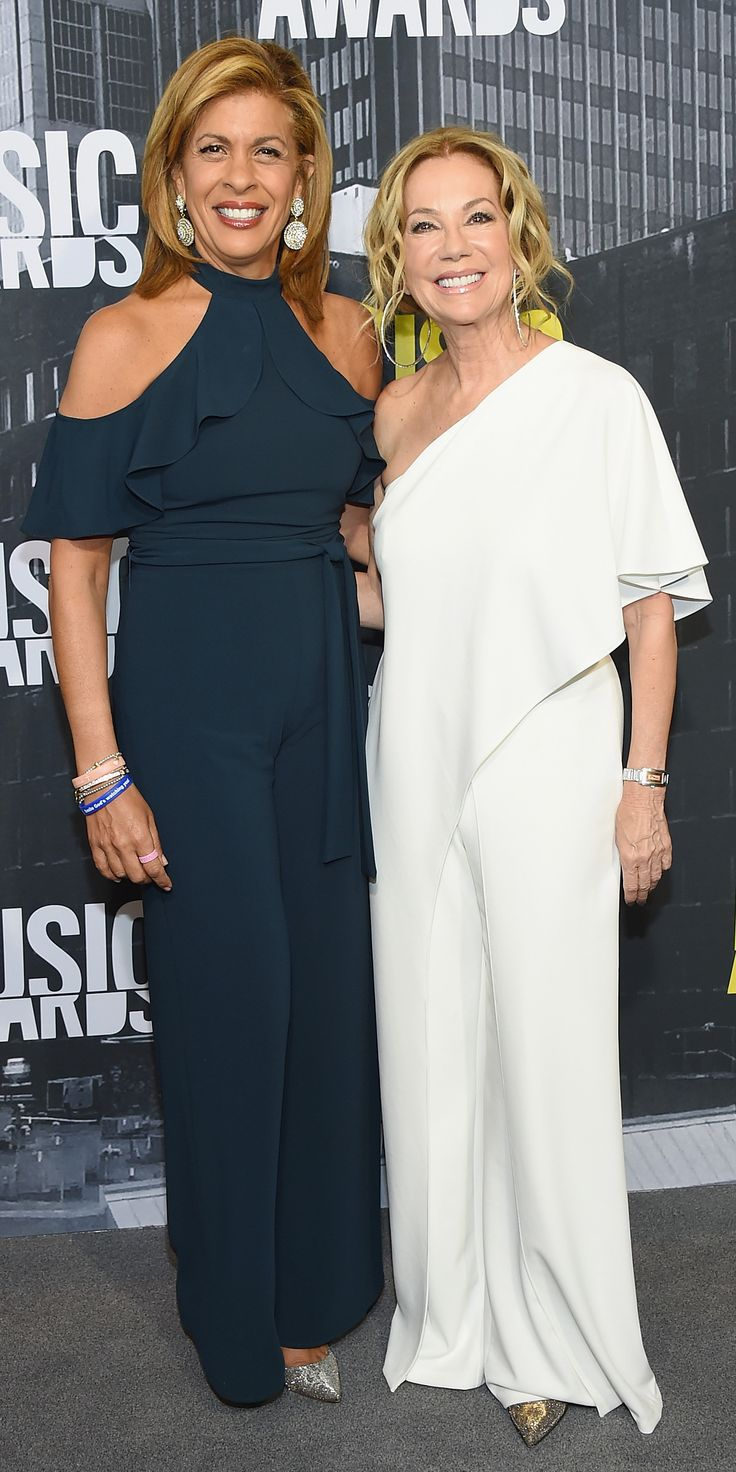 See the Hottest Looks from the 2017 CMT Music Awards Red Carpet - Hoda Kotb and Kathie Lee from InStyle.com