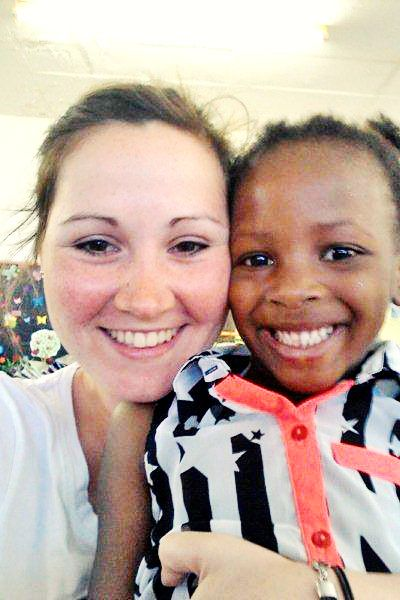 Volunteer Levka in #CapeTown #volunteerabroad #studentsgoabroad #southafrica