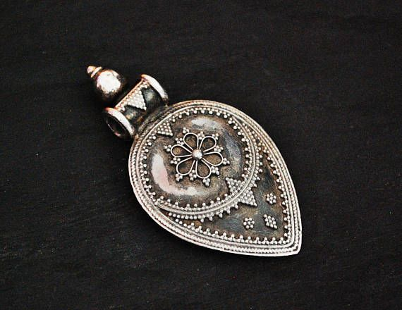 Rajasthan Silver Amulet  BY COSMIC NORBU
