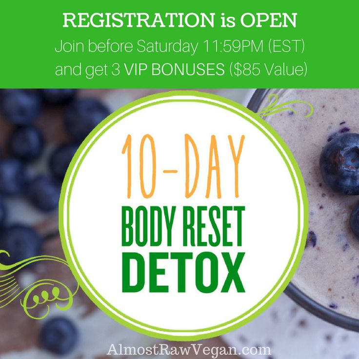 Woohooo!  Registration is now officially OPEN for our 10-Day Body Reset DETOX.  Now, what is this program about?  The 10-Day Body Reset DETOX helps you ZAP those unhealthy cravings, JUMPSTART your weight loss & RECHARGE the energy you've been missing.  Using the strategies & approach I share with you in the 10-Day Body Reset Detox, I was personally able to get over the hump and finally get to the 'other side' where my body started to crave the good stuff, I ditched the cravings, I started…