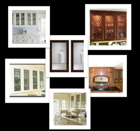 Beveled Glass Kitchen Cabinet Doors: 169 Best Images About Glass Cabinet Doors On Pinterest