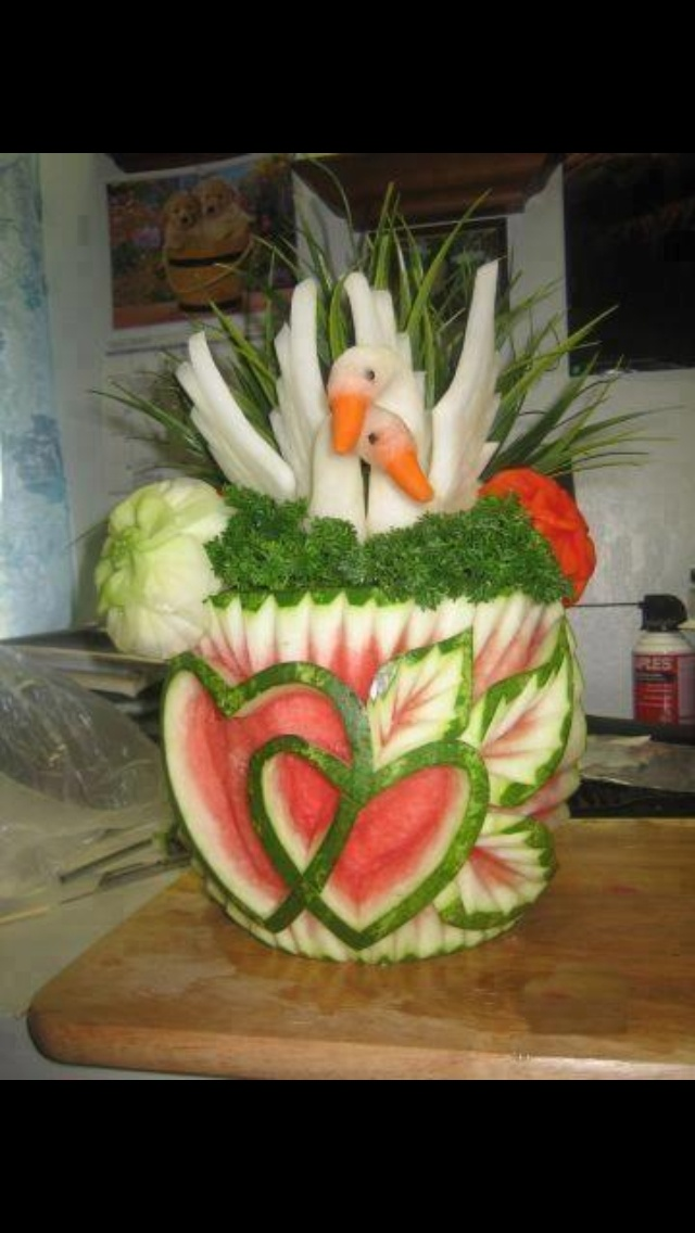 Fruit carving                                                                                                                                                                                 More
