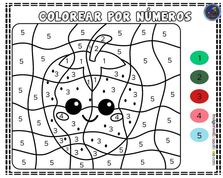 101 dibujos para colorear   Colorear por números, Dibujos ...