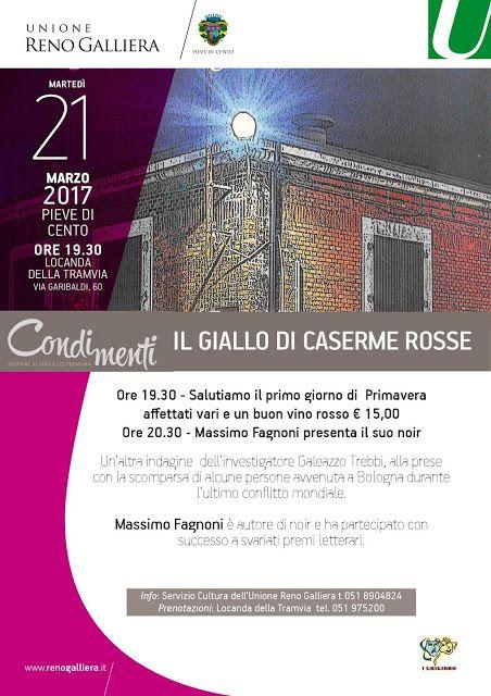 Massimo Fagnoni writer: Il giallo di Caserme Rosse a Pieve di Cento