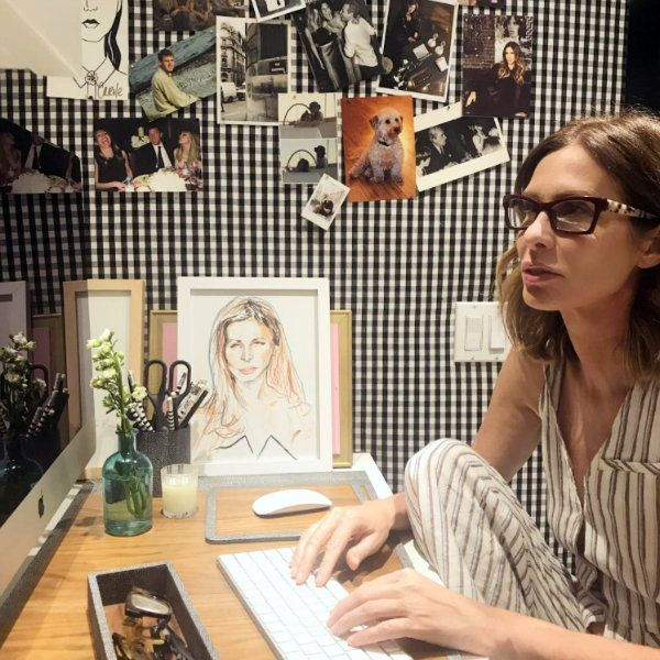 Carole Radziwill's updated apartment.  Here's a peek at Carole Radziwill's newly redecorated apartment, fresh from the pages of  Architectural Digest. And guess what?!  Her iconic tiger print sofa has finally been reupholstered! I think the soft gray and blue color palette was the perfect choice. Looking good, Carole!t