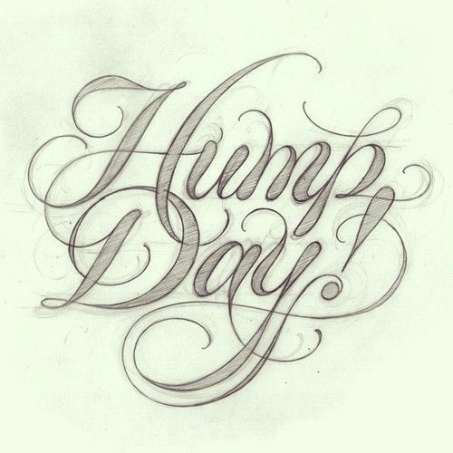 Wednesday work procrastination. #lettering #handlettering #script by Matthew Tapia