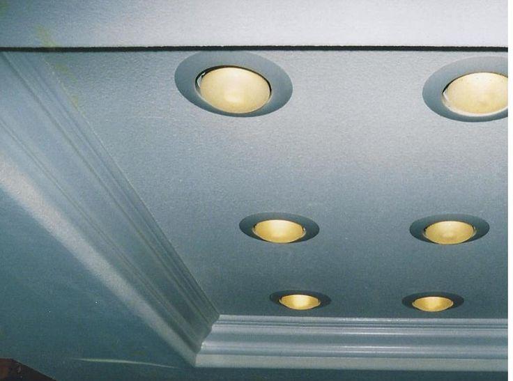 remodel flourescent light box in kitchen | fluorescent light box redo custom double glass doors replaced slider