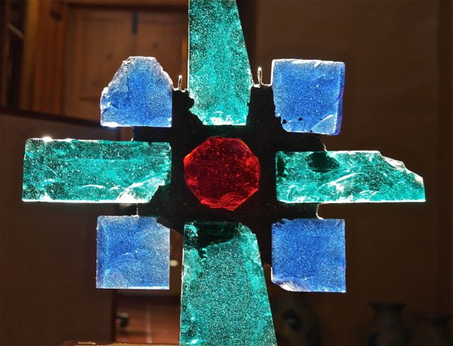 Great contemporary art glass by Walter Carleton, now available in PV at Hecho de Mexico on Guerrero in Gringo Gulch.