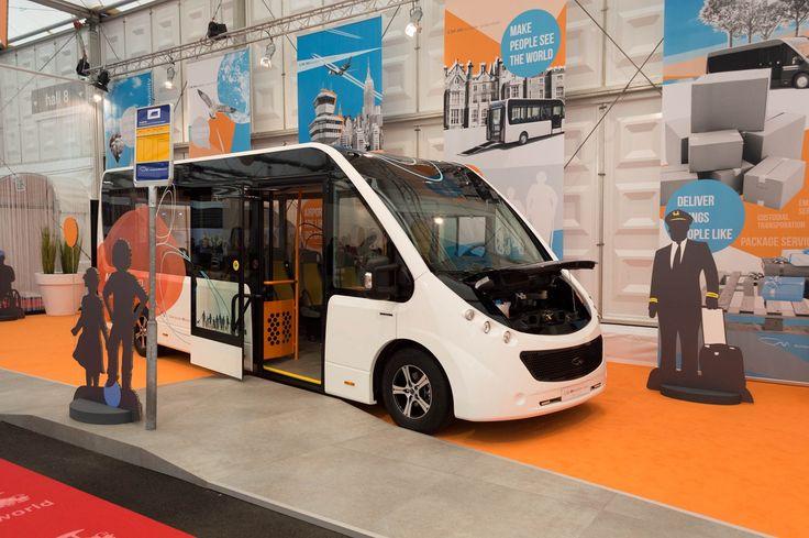CM Mission 150e | Electric minibus