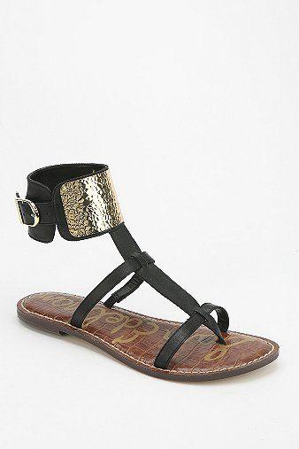 Sam Edelman Genette Cutout T-Strap Sandal