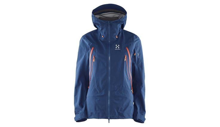 Haglöfs W's Skade Jacket Hurricane Blue - addnature.com
