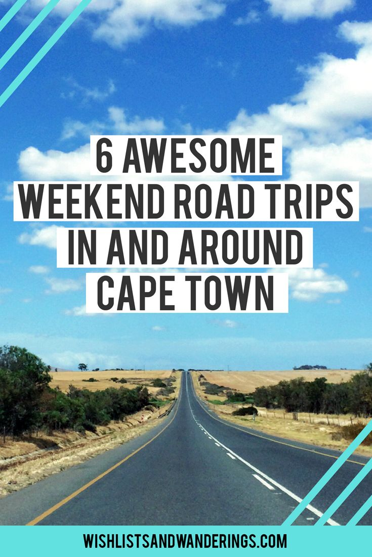 6 awesome weekend road trips in and around Cape Town