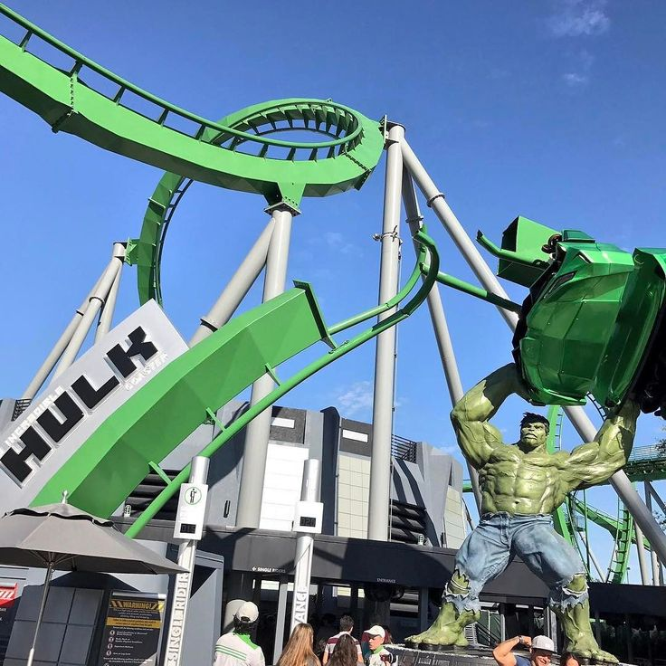 Okay I'm in love with the new Hulk! Love the roar and the smoothness of the new cars. Fantastic ride! @UniversalORL